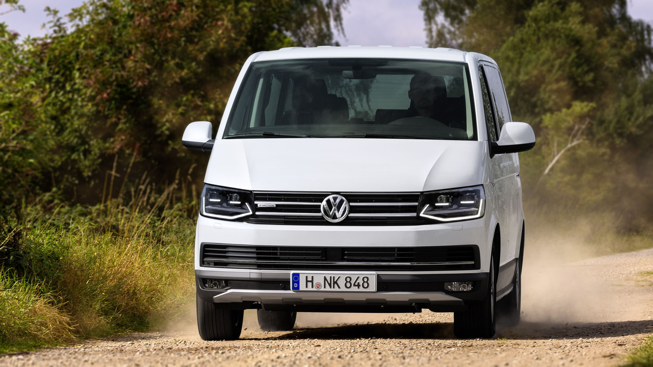 VW shows off its latest Transporter adventure van