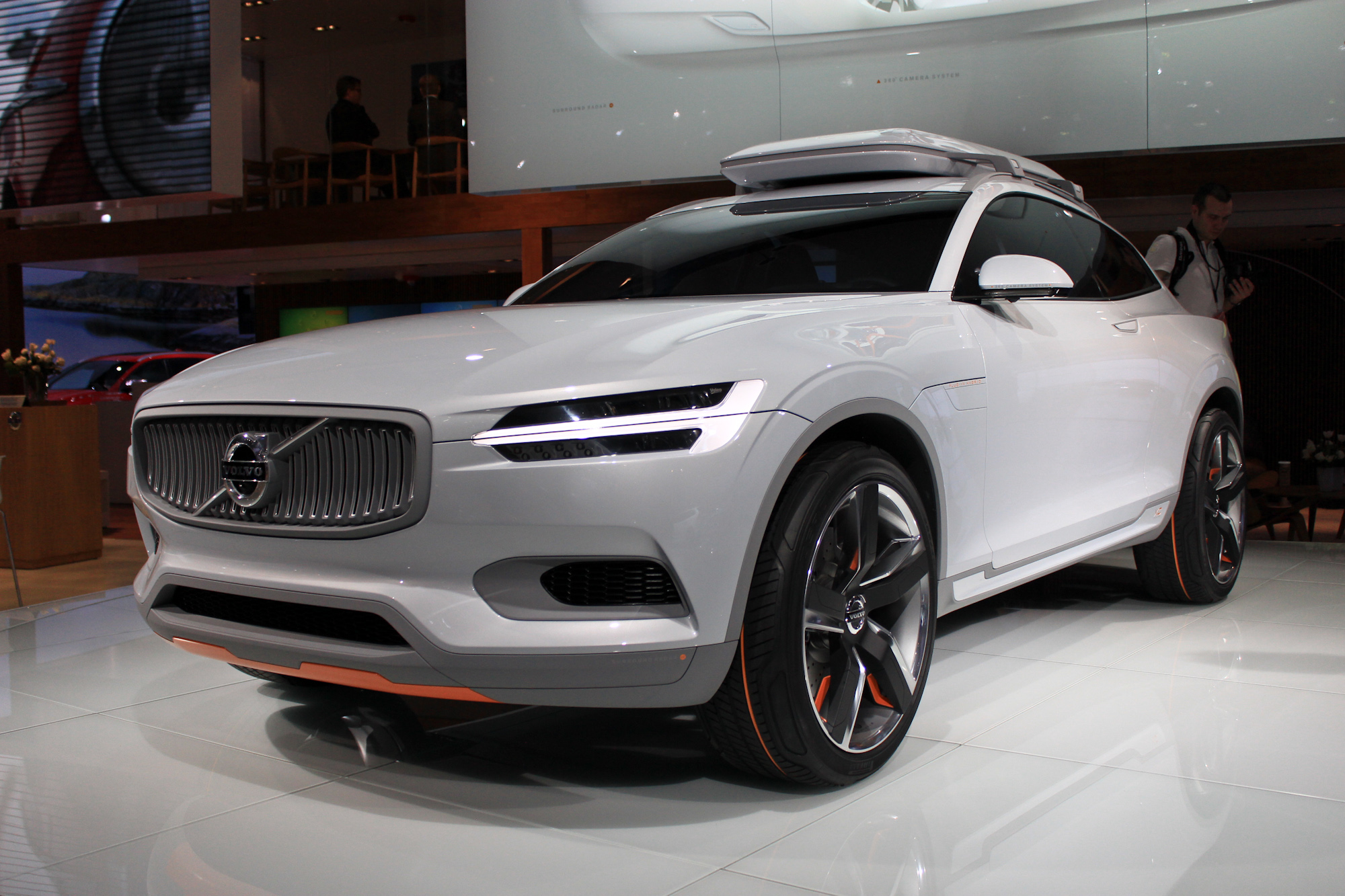 Volvo Concept XC Coupe Revealed Hints At Design Of 2016