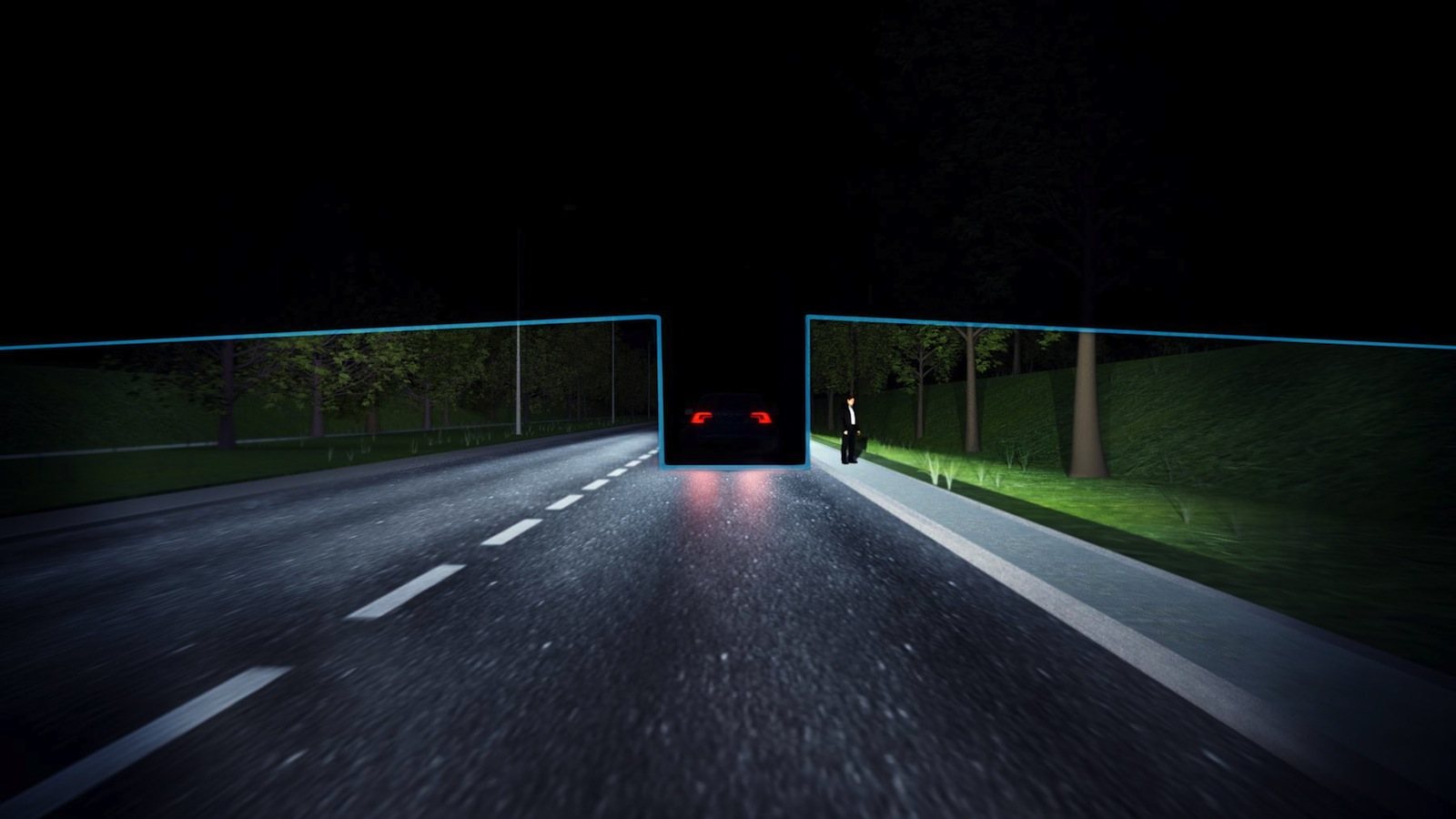 Volvo's Latest High-Tech Trick: Permanent High-Beam Headlights