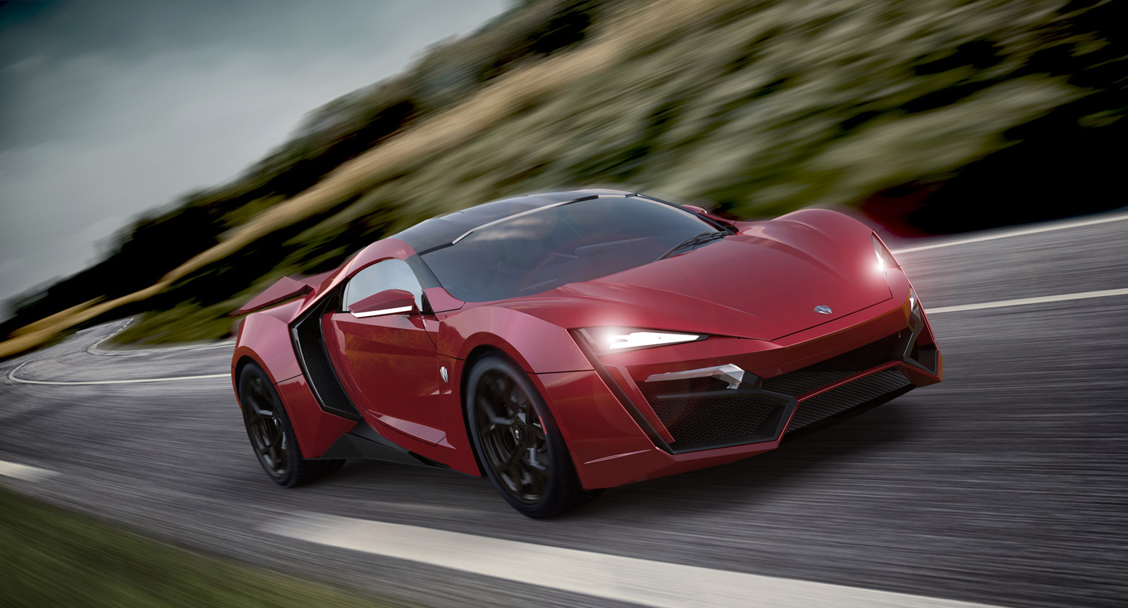 3 4 Million Lykan Hypersport Debuts In Production Trim At Dubai Motor Show