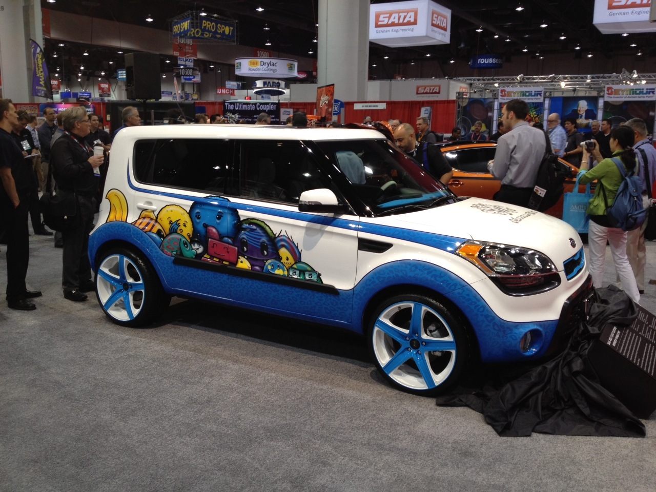 2012 Kia Soul Inspired By Michelle Wie 2011 Sema Live Photos