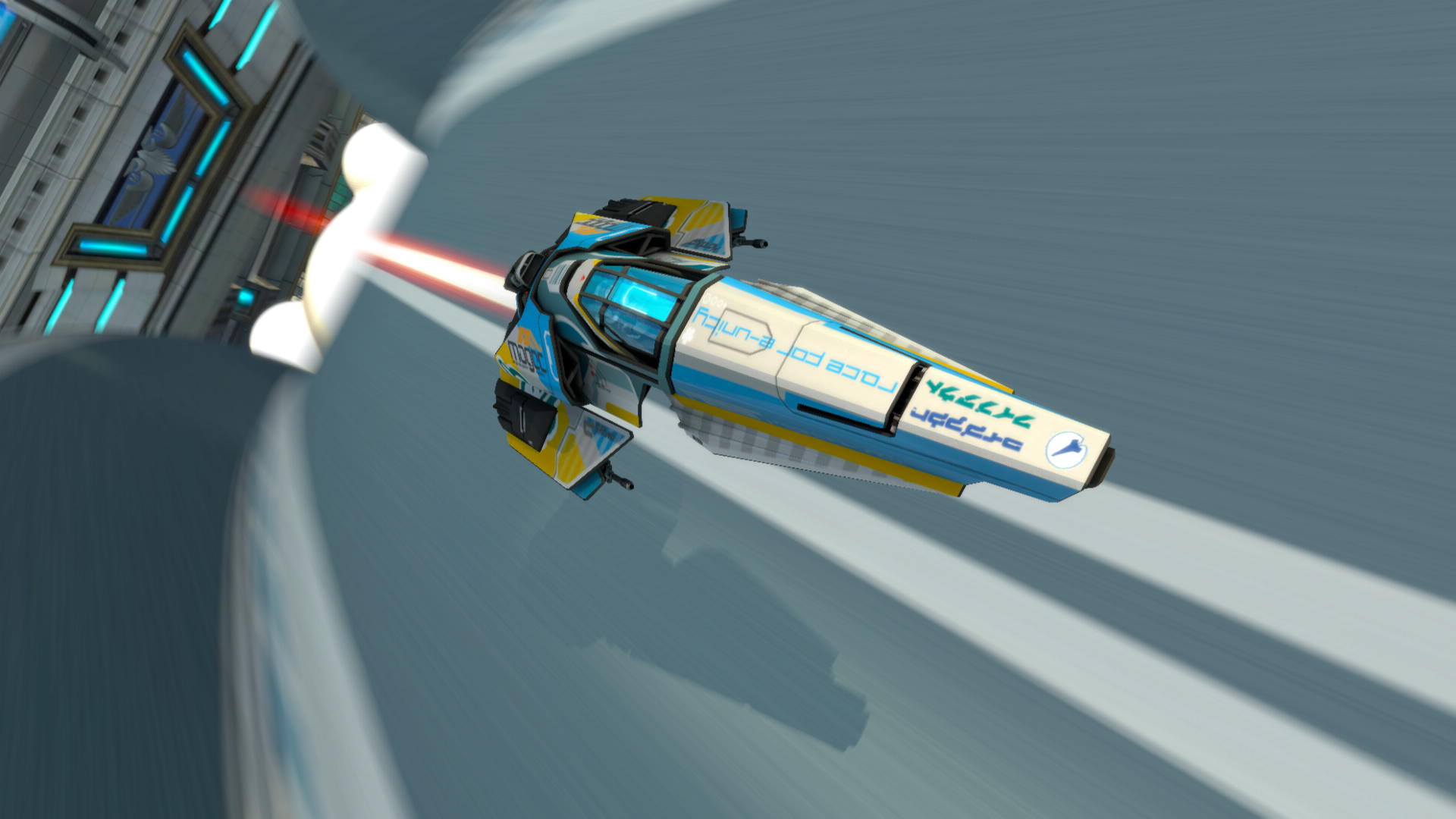 Quantum Levitation Racing Wipeout Videogame Made Real