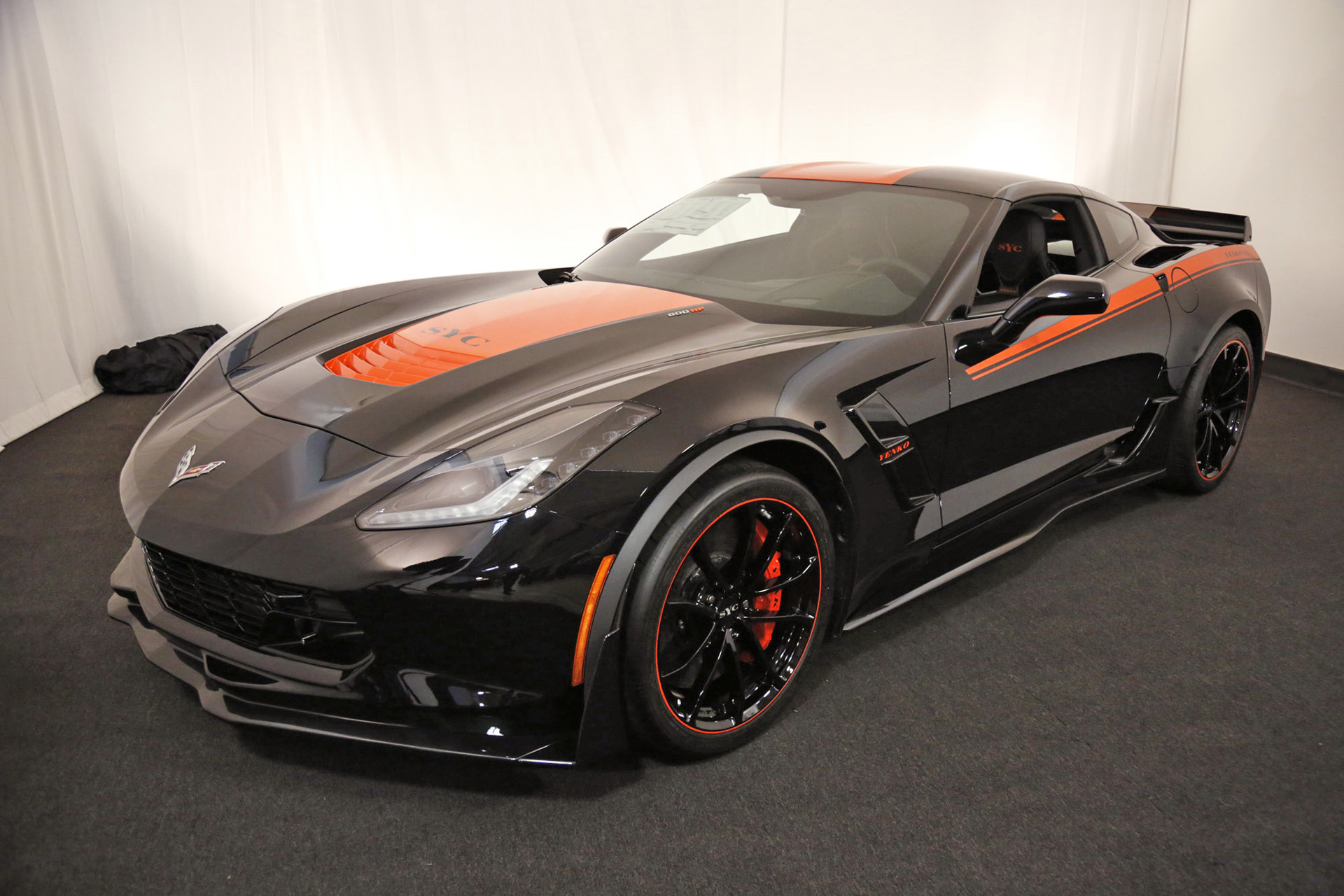 800 hp yenko 2017 chevrolet corvette grand sport revealed. Black Bedroom Furniture Sets. Home Design Ideas