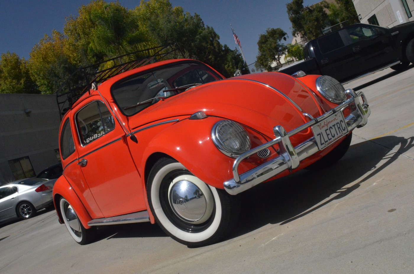 2019 Vw Beetle >> Zelectric Motors' 1963 Volkswagen Beetle Electric Car Driven