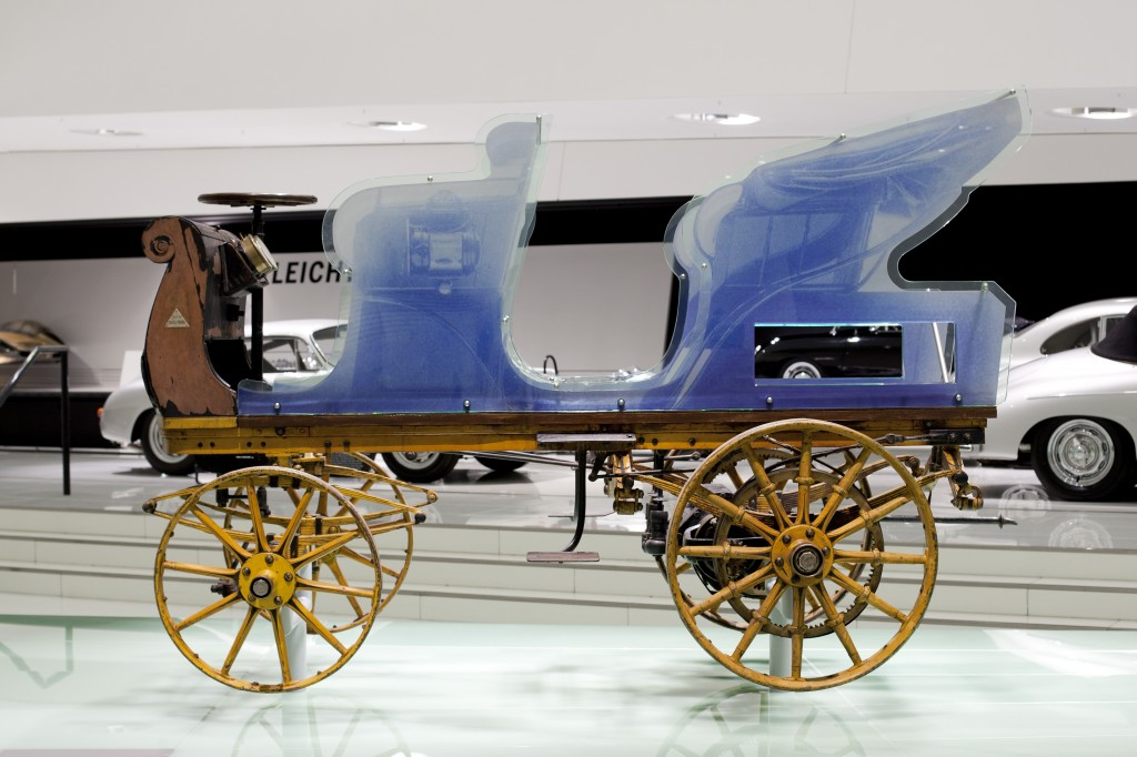 1898 'P1' electric car designed by Ferdinand Porsche
