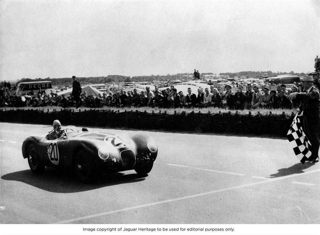 1951 Le Mans-winning Jaguar C-Type