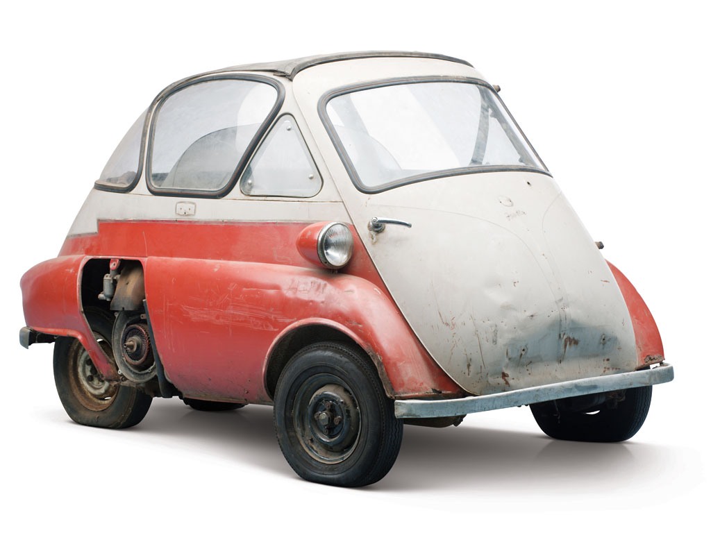 1956 BMW Isetta 300 from the Bruce Weiner Microcar Museum [Photo: RM Auctions]