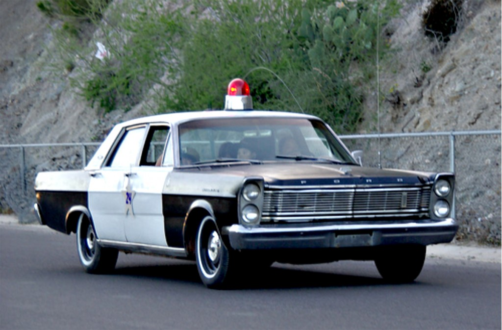 1965 Ford Galaxie Police Car from The Andy Griffith Show