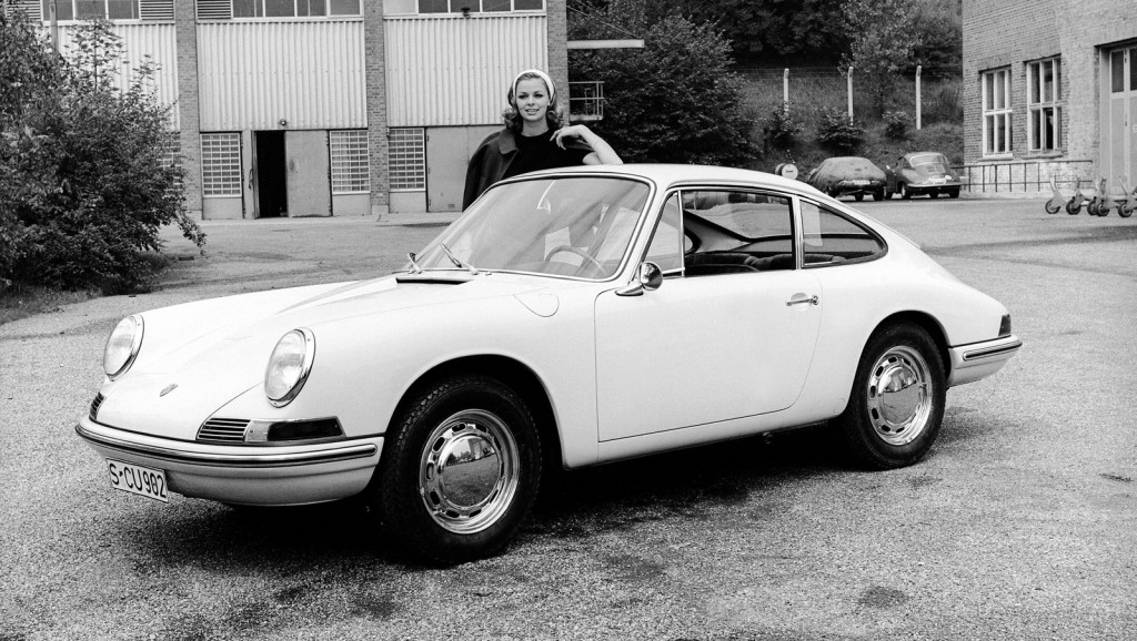 1963 Porsche 901 prototype, the first 911