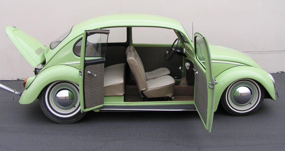 1965 VW Beetle with suicide door