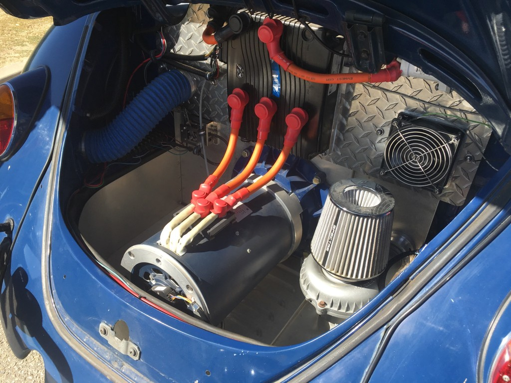 Image: 1967 Volkswagen Beetle 'eBug' electric-car conversion, owned by Richard Hugo [photo ...