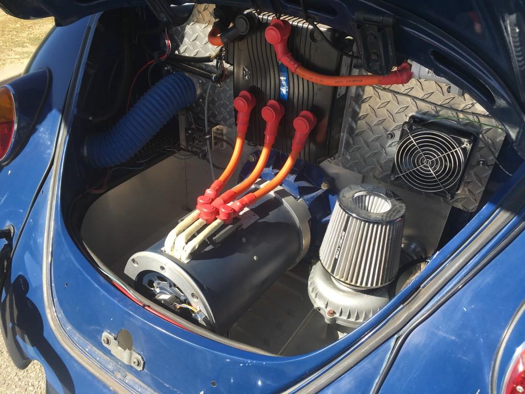 Image 1967 Volkswagen Beetle Ebug Electric Car