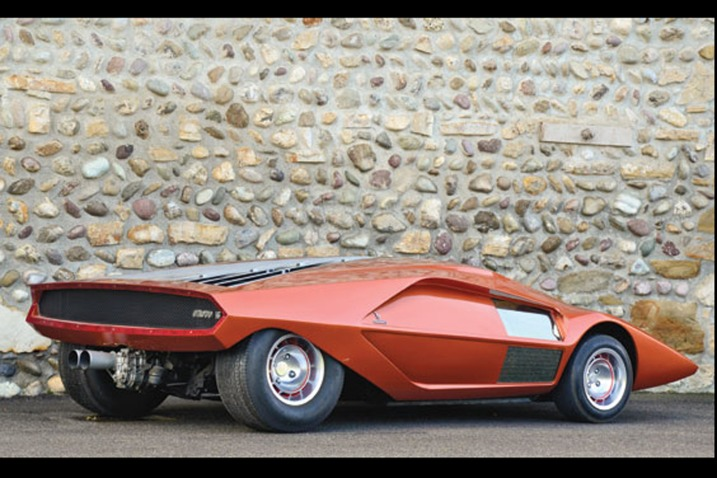 One-of-a-kind 1970 Lancia Stratos HF Zero set for auction at Lake ...