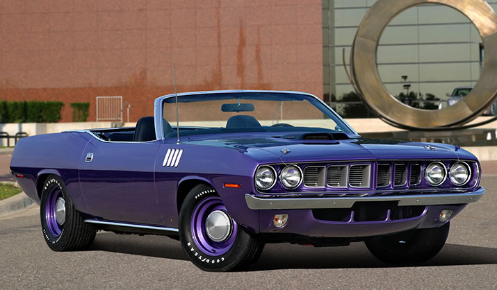 rare 1971 plymouth hemi 39 cuda convertible heads to auction. Black Bedroom Furniture Sets. Home Design Ideas