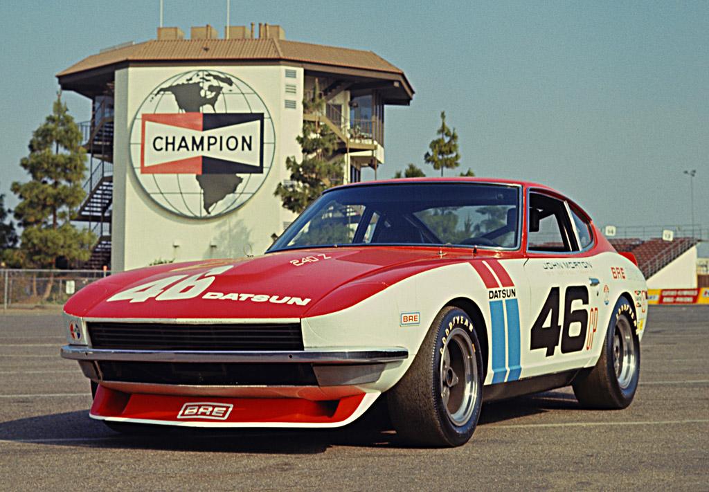 1972 BRE Racing Datsun 240Z