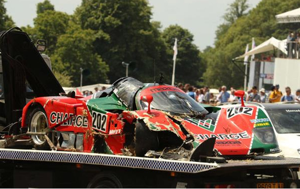 Nissan Frontier Pro 4x >> 1989 Mazda 767B Le Mans Racer Crashes At 2015 Goodwood ...