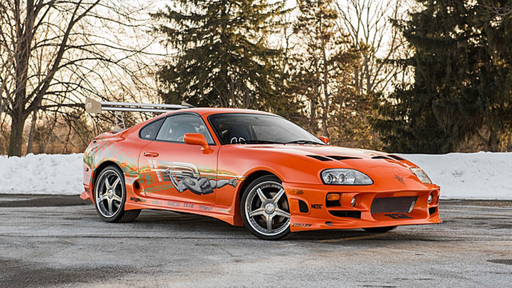 Car Auction Sites >> Toyota Supra Driven By Paul Walker In 2001's 'The Fast And The Furious' Heads To Auction