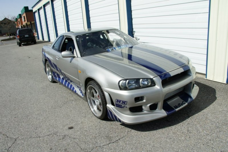 2 Fast 2 Furious Skyline GT-R R34 For Sale On Craigslist