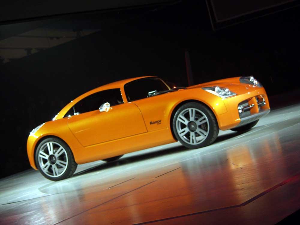 2002 Dodge Razor concept, Paris Auto Show