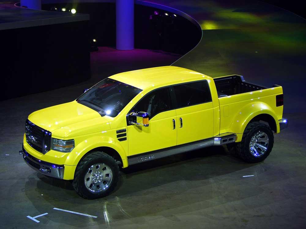 2002 ford mighty f 350 tonka concept - Mighty Ford F 750 Tonka