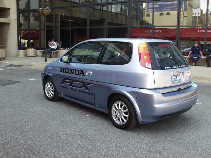 2003 Honda FCX, New York Auto Show