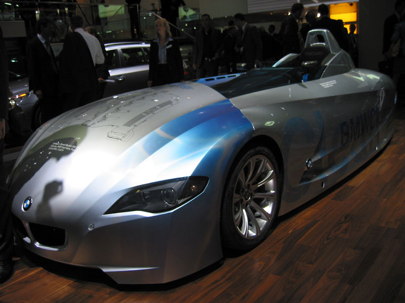 2004 BMW H2R, Paris Auto Show
