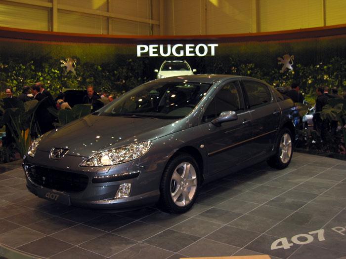 2004 Peugeot 407, Geneva Motor Show