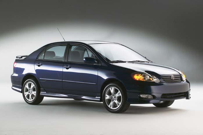 2004 Toyota Corolla XR-S