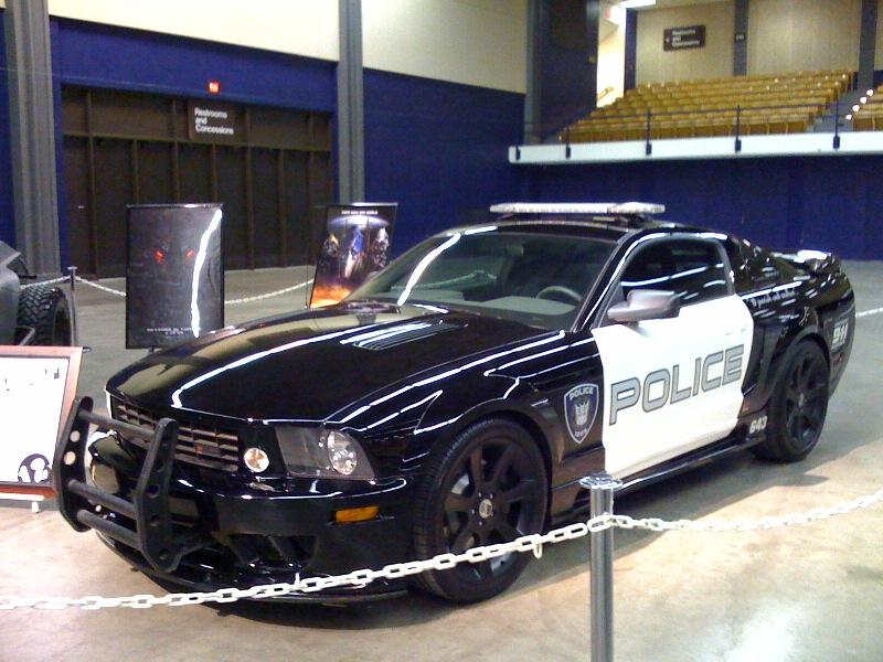 2005 Saleen Mustang 'Barricade' from Transformers [via iCollector.com]