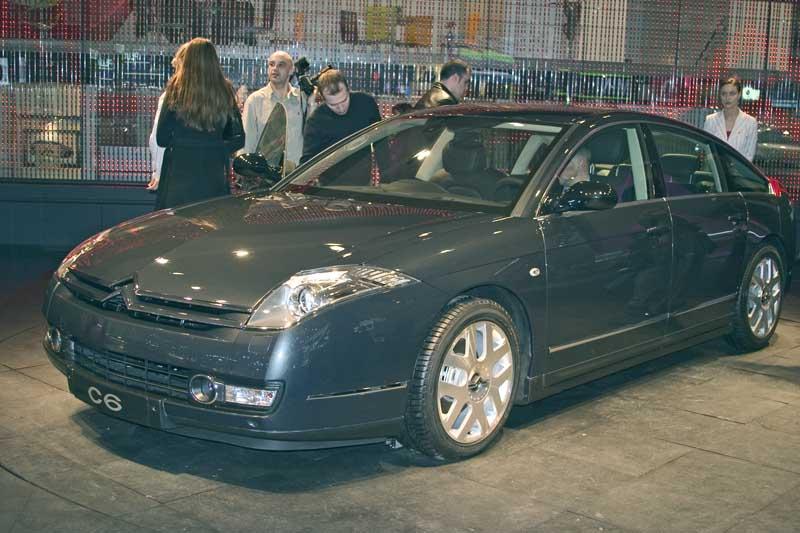 2005 Citroen C6, Geneva Motor Show