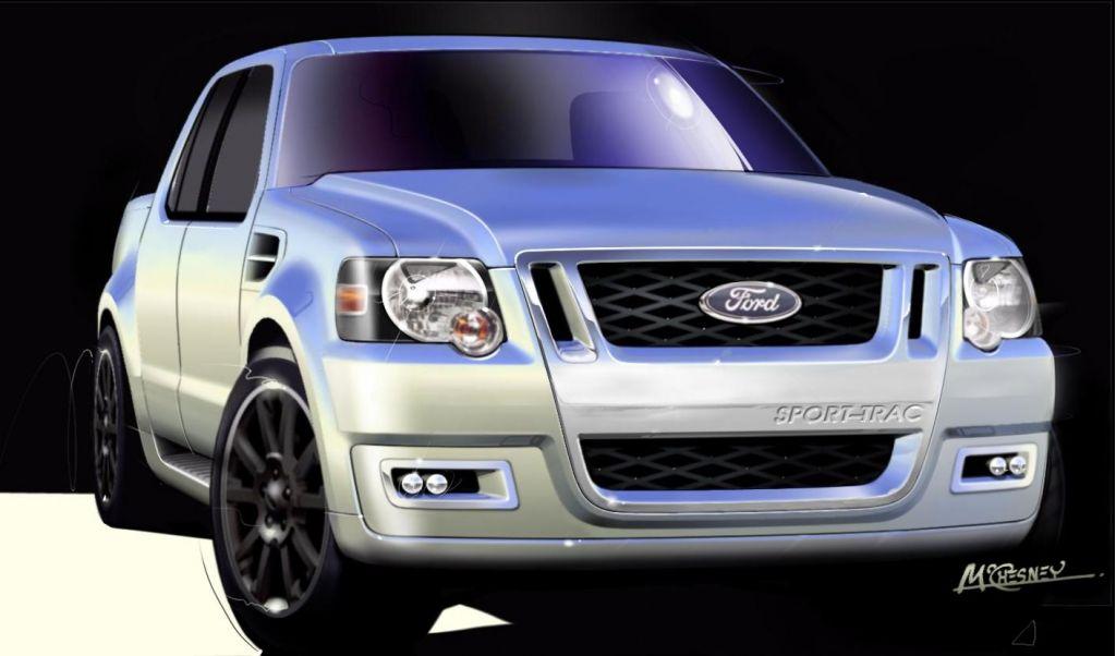 2005 Ford Explorer Sport Trac concept