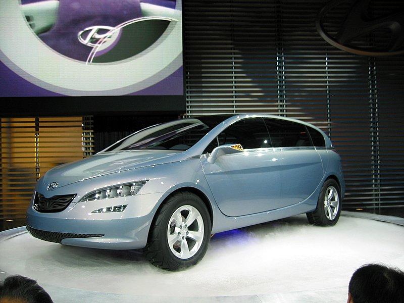 2005 Hyundai Portico Concept, Chicago Auto Show