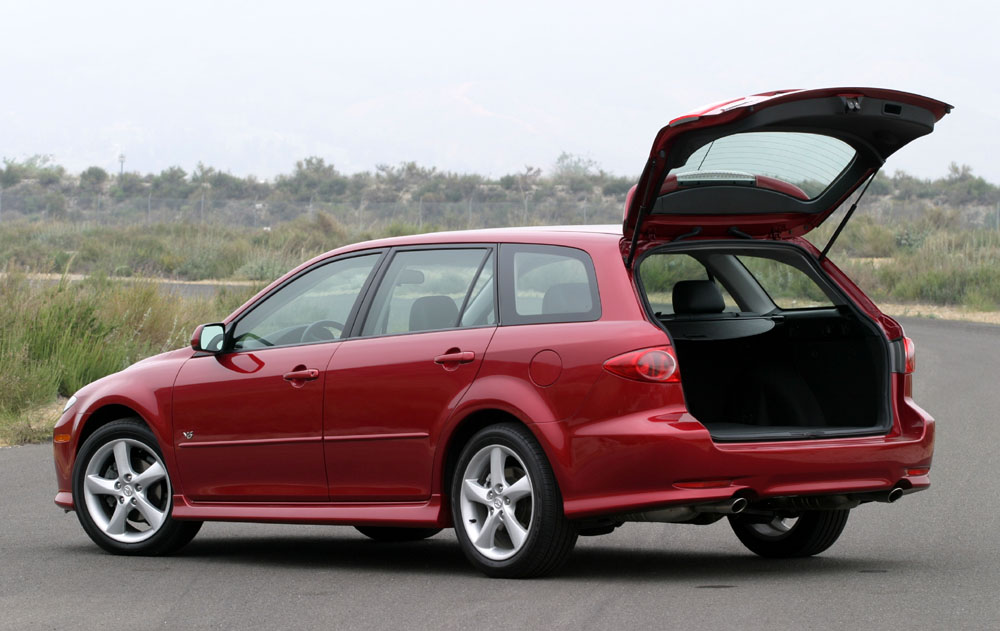 image 2005 mazda6 sport wagon rear door open size 1000 x 631 type gif posted on. Black Bedroom Furniture Sets. Home Design Ideas