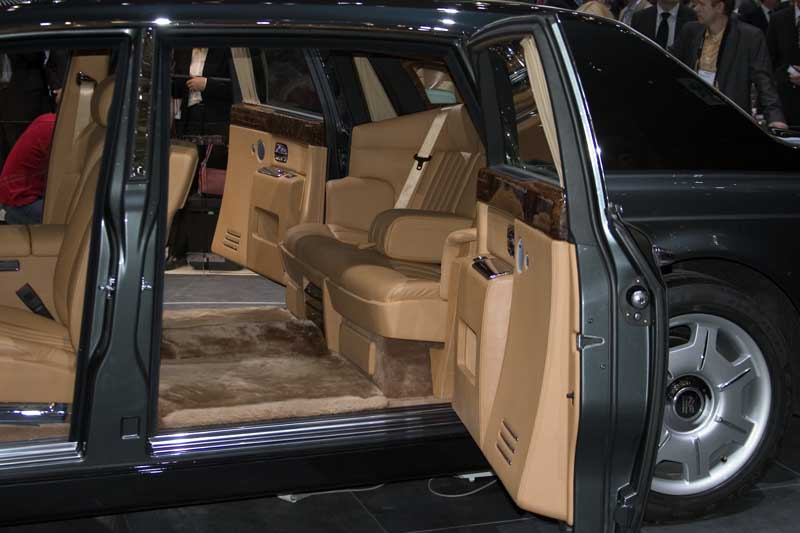2005 Rolls-Royce Phantom LWB, Geneva Motor Show