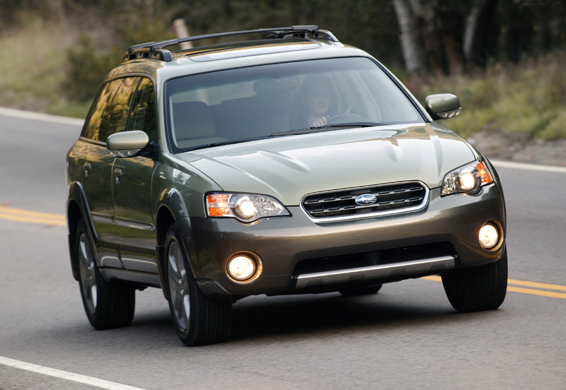 2005 Subaru Outback Front