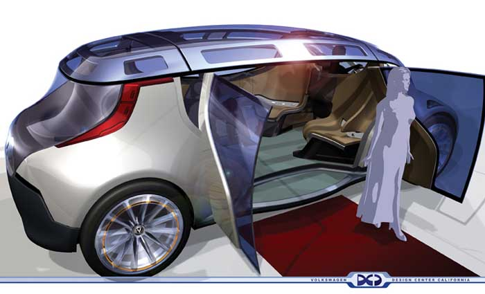 2005 Volkswagen Mobile Lounge concept