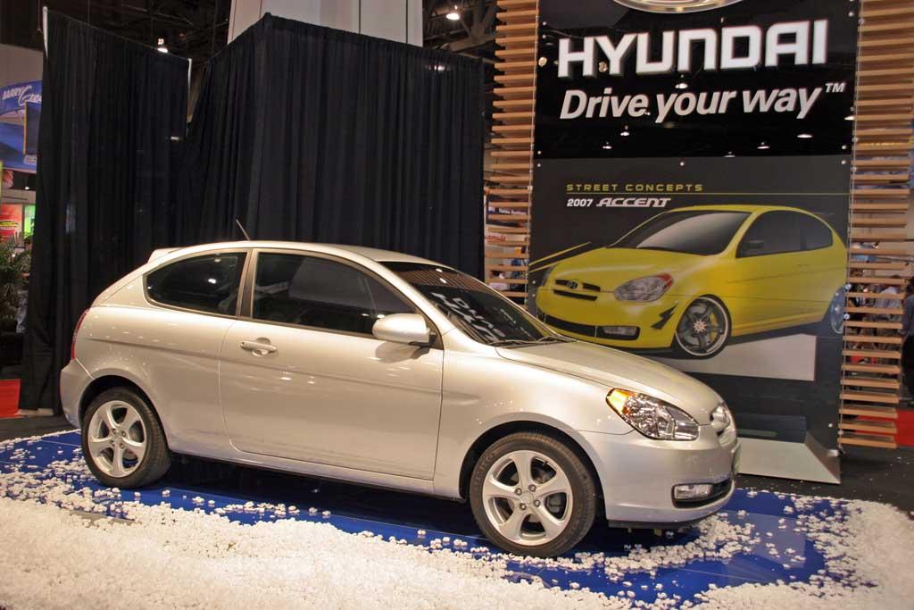 2006 Hyundai Accent, Chicago Auto Show