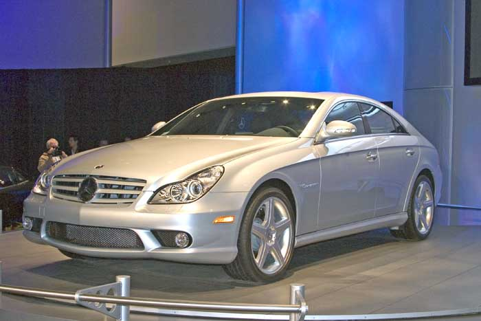 2006 Mercedes-Benz CLS 55, Los Angeles Auto Show