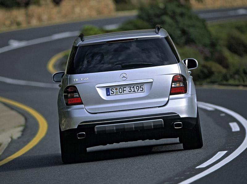 Image 2006 mercedes benz ml350 rear size 800 x 598 for Mercedes benz 2008 ml350