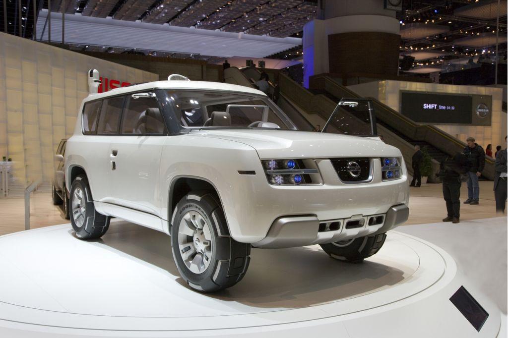 2006 Nissan Terranaut concept, Geneva Motor Show