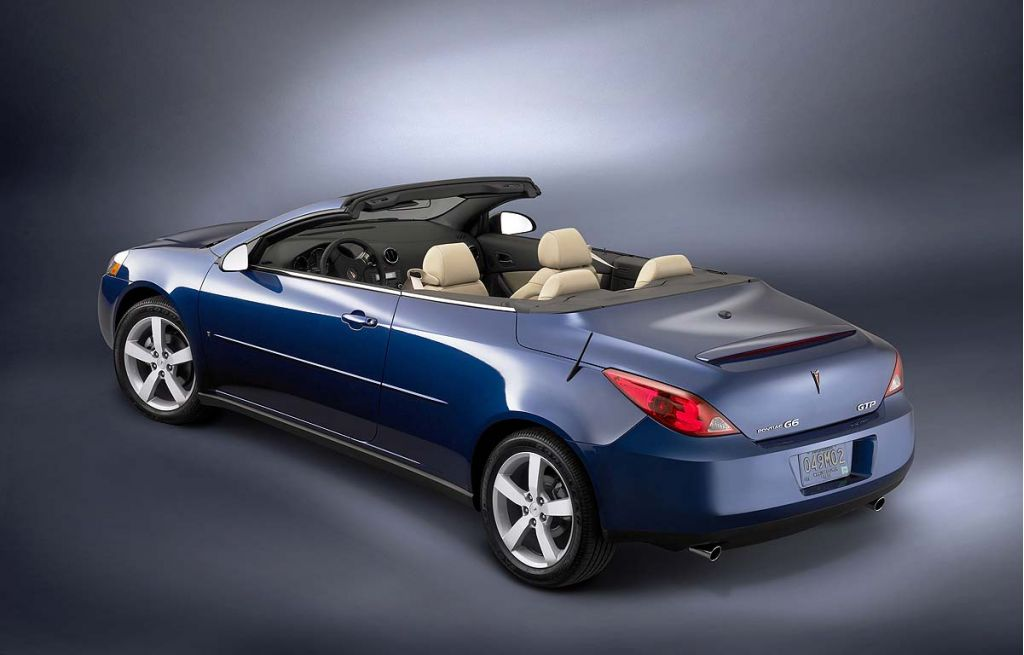 Image 2006 Pontiac G6 Convertible Gt Size 1024 X 655 Type Gif Posted On December 1 2006