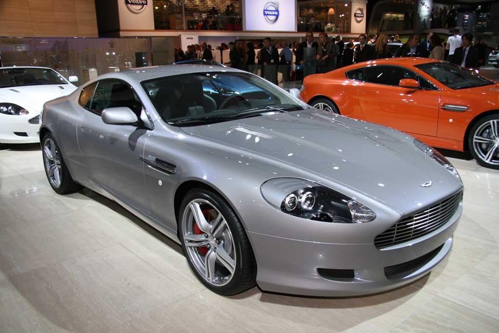 2007 Aston Martin DB9 LM, Frankfurt Auto Show