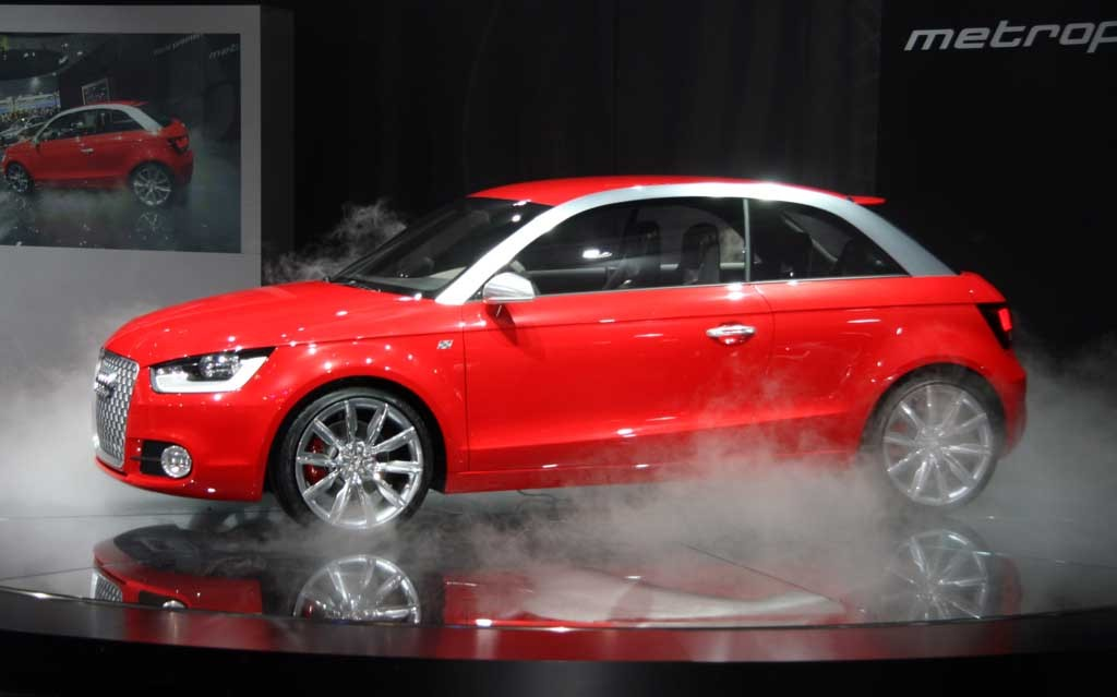 Audi A1 To Launch At Frankfurt