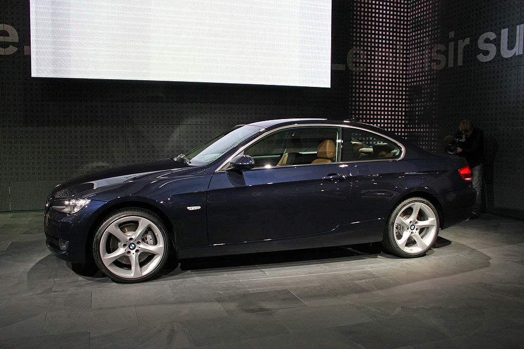 2007 BMW 3-Series Coupe, Paris Auto Show
