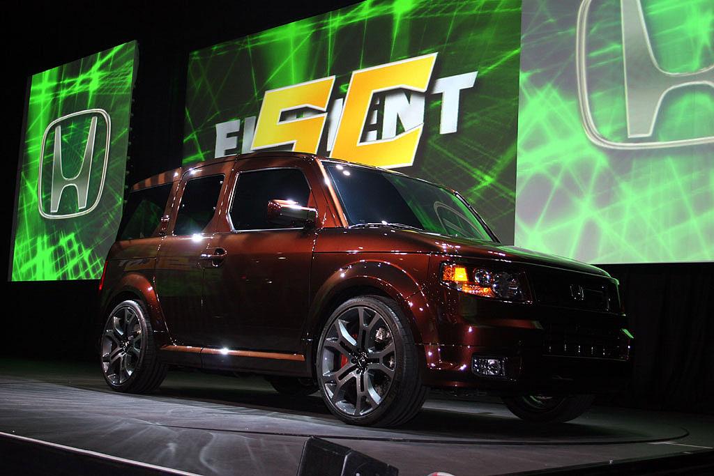 2007 Honda Element SC, New York Auto Show
