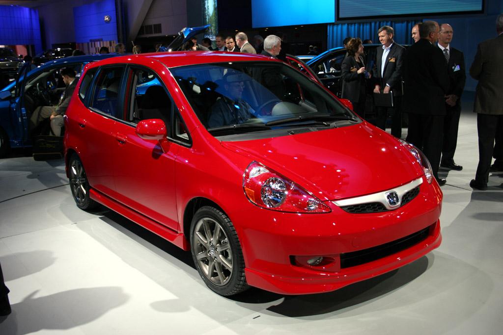 2007 Honda Fit,  Detroit Auto Show