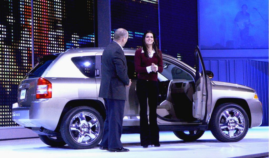 2007 Jeep Compass Angie Harmon,  Detroit Auto Show