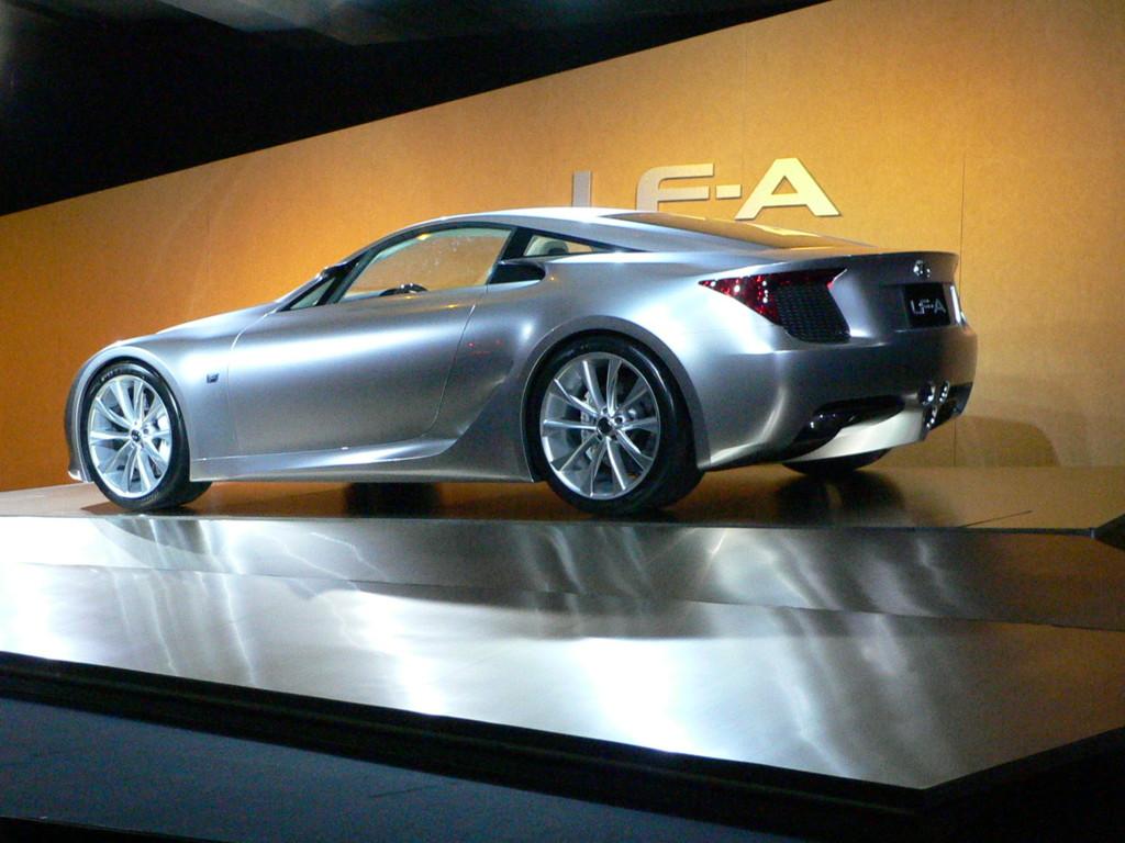 2007 Lexus LF-A Concept, Detroit Auto Show