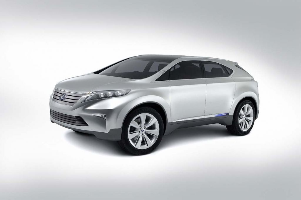 2007 Lexus LF-Xh Concept