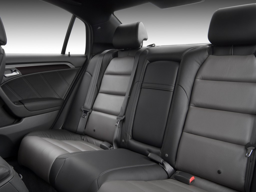 image 2008 acura tl 4 door sedan man type s rear seats. Black Bedroom Furniture Sets. Home Design Ideas